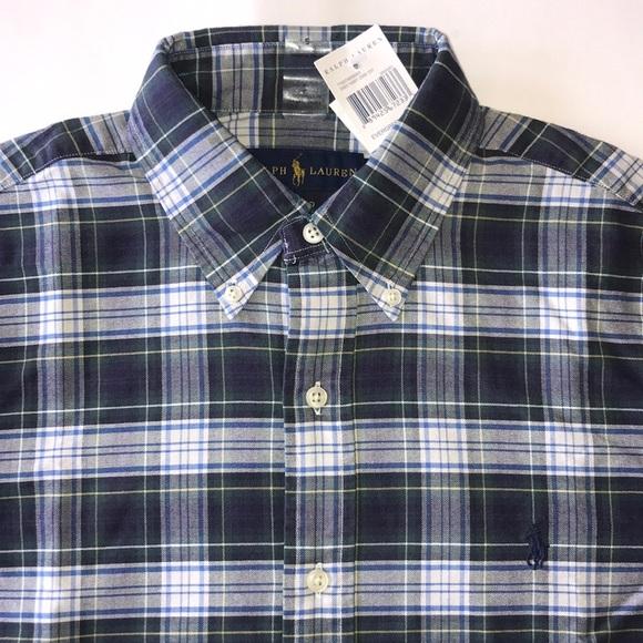 Ralph Lauren Polo Men Long Sleeve Button down Dress Shirt Brand New with Tags